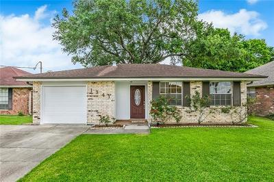 Metairie Single Family Home For Sale: 1341 N Woodlawn Avenue