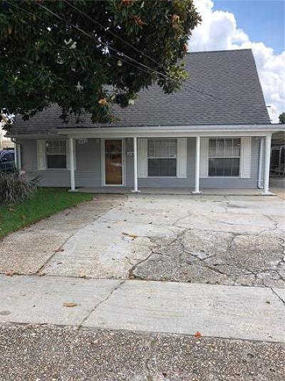 Harvey Single Family Home For Sale: 525 Gardere Avenue