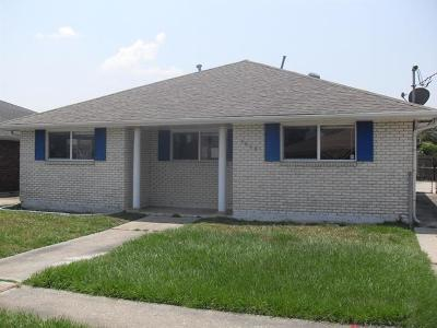 New Orleans Single Family Home For Sale: 7808 Hickman Street