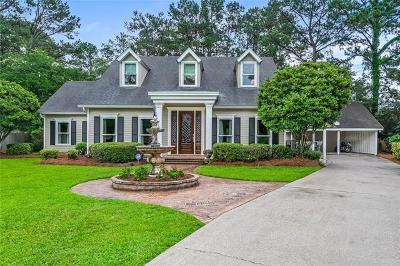 Mandeville Single Family Home Pending Continue to Show: 113 Beau Pre Drive