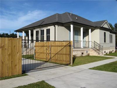 New Orleans Single Family Home For Sale: 2431 Mendez Street