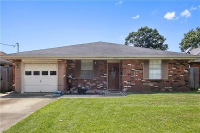 Metairie Single Family Home For Sale: 3608 Transcontinental Drive