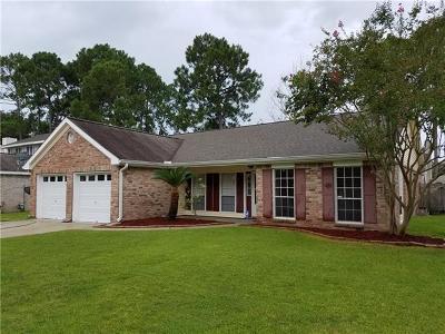 Slidell Single Family Home For Sale: 114 Cottonwood Court