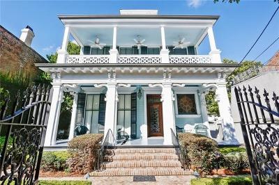 New Orleans Single Family Home For Sale: 1620 Fourth Street