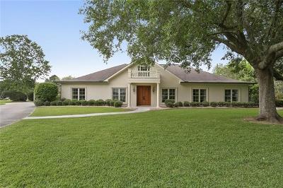 Destrehan Single Family Home For Sale: 208 Ormond Boulevard