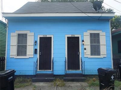 New Orleans Single Family Home For Sale: 2328 Barracks Street