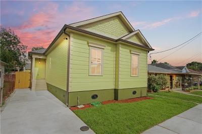 New Orleans Single Family Home For Sale: 1437 Bartholomew Street