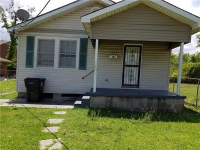 New Orleans Single Family Home For Sale: 4634 Flake Avenue