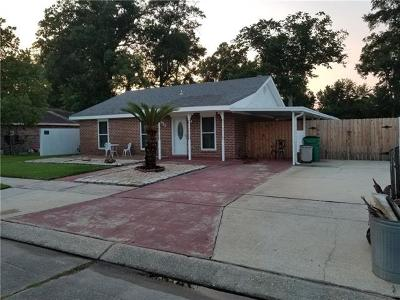 Marrero Single Family Home For Sale: 2812 Sieglinde Court