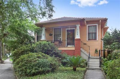 Single Family Home For Sale: 7135 S Claiborne Avenue