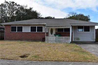 Westwego Single Family Home Pending Continue to Show: 12 Gardenia Lane