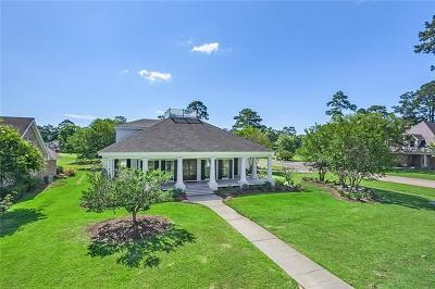 Mandeville LA Single Family Home For Sale: $664,500