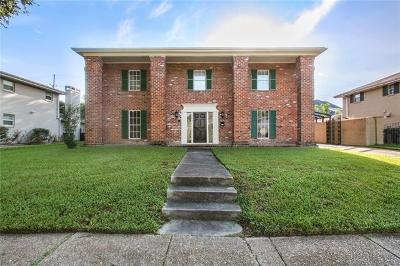 New Orleans Single Family Home For Sale: 5543 Cherlyn Drive