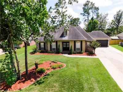 Slidell Single Family Home For Sale: 611 Whitney Drive
