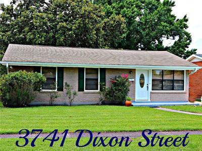 Single Family Home Pending Continue to Show: 3741 Dixon Street