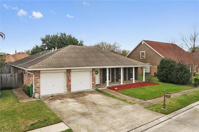 Kenner Single Family Home For Sale: 624 Fleurie Drive