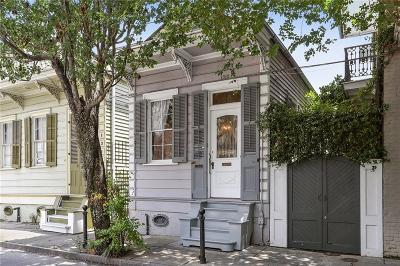 French Quarter Single Family Home For Sale: 1312 Dauphine Street