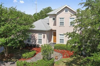 Kenner Single Family Home For Sale: 1 Sago