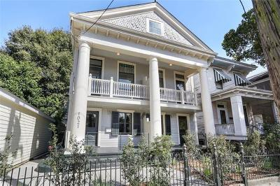 New Orleans Single Family Home For Sale: 1021 First Street