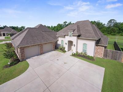 Madisonville Single Family Home For Sale: 344 Old Place Lane