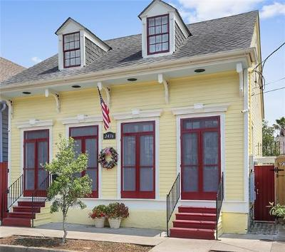 New Orleans Single Family Home Pending Continue to Show: 2476 Dauphine Street