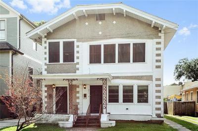 New Orleans Multi Family Home For Sale: 2411 Joseph Street
