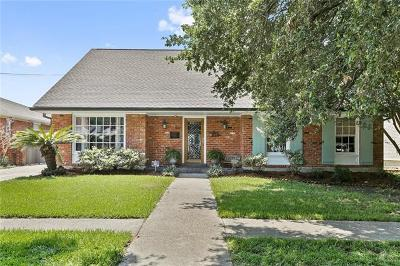 New Orleans Single Family Home For Sale: 5862 Marcia Avenue