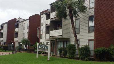 Jefferson Parish, Orleans Parish Condo For Sale: 1161 Lake Avenue #102