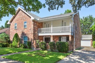 Metairie Single Family Home For Sale: 4613 Beau Lac Lane