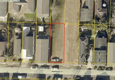 Residential Lots & Land For Sale: 3031 Maurepas Street