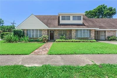 New Orleans Single Family Home For Sale: 3837 Wall Boulevard