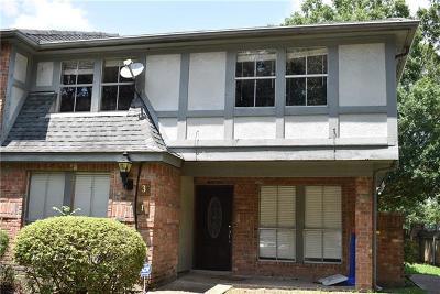 Jefferson Parish, Orleans Parish Condo For Sale: 1 Heritage Lane #3