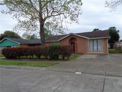 New Orleans Single Family Home For Sale: 3111 Dickens Drive