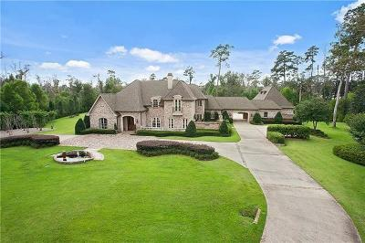 Covington LA Single Family Home For Sale: $1,825,000