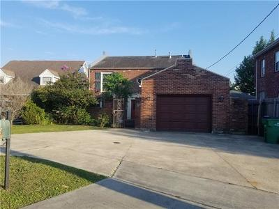 Metairie Single Family Home For Sale: 4316 Folse Drive