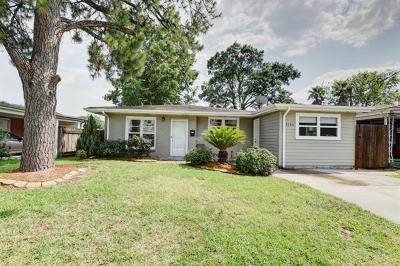 Metairie Single Family Home Pending Continue to Show: 7704 Leonard Avenue