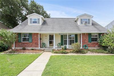 Metairie Single Family Home For Sale: 6800 Blanke Street