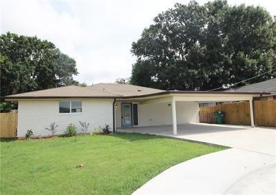 Single Family Home For Sale: 4525 West Metairie Avenue