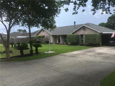 Marrero Single Family Home For Sale: 5326 Woodstream Drive