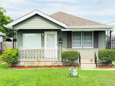 Marrero Single Family Home For Sale: 1523 Avenue B Avenue