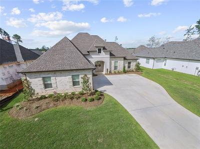 Madisonville Single Family Home For Sale: 589 Blue Heron Lane