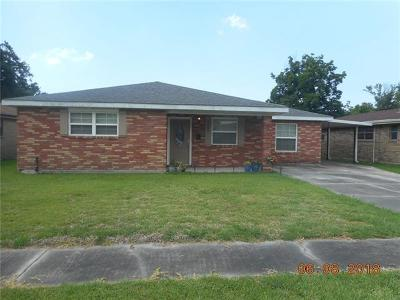 Marrero Single Family Home For Sale: 5545 Hudson Drive