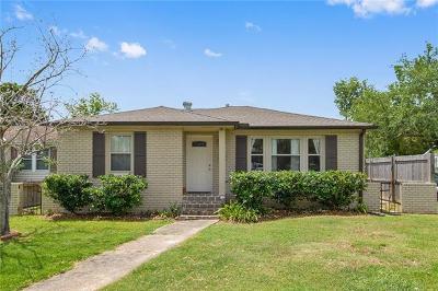 Metairie Single Family Home For Sale: 218 Mandarin Street