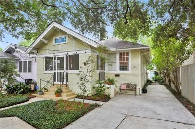 New Orleans Single Family Home For Sale: 2007 Pine Street