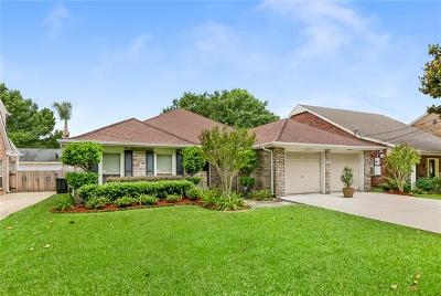 Kenner Single Family Home For Sale: 5100 Rebecca Boulevard