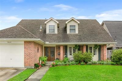 Metairie Single Family Home For Sale: 5117 Burke Drive