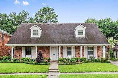 Single Family Home For Sale: 5751 Abbey Drive