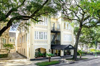 New Orleans Condo For Sale: 2801 St Charles Avenue #110 C