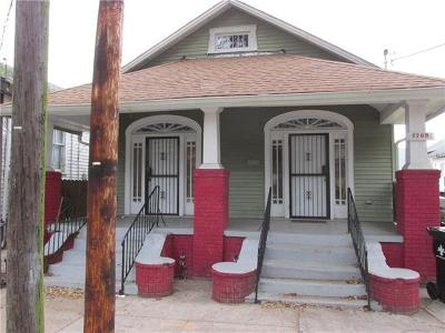 New Orleans Multi Family Home For Sale: 1767 N Dorgenois Street