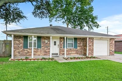 Marrero Single Family Home For Sale: 3124 Nature Drive